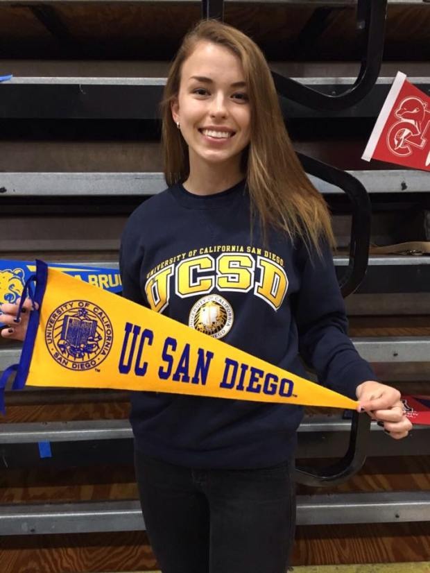 Sabina Burkic, Huntington Beach – UC San Diego: cognitive science major; music, minor (Photo courtesy of Sabina Burkic)