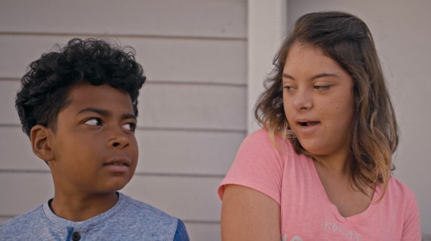 "Julian Alvarado, left, and Gitane Neil star in ""Best Friend,"" a short film by Cory Reeder. (Photo courtesy of Cory Reeder)"
