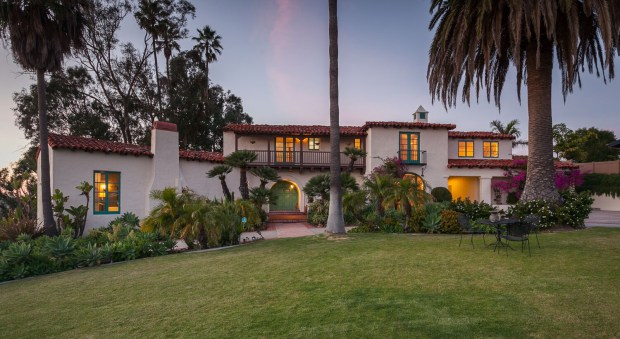 The house at 243 Avenida La Cuesta in San Clemente will be sold by auction on July 29. The opening bid has been set at $2.4 million. (Photo by Tim Krueger)