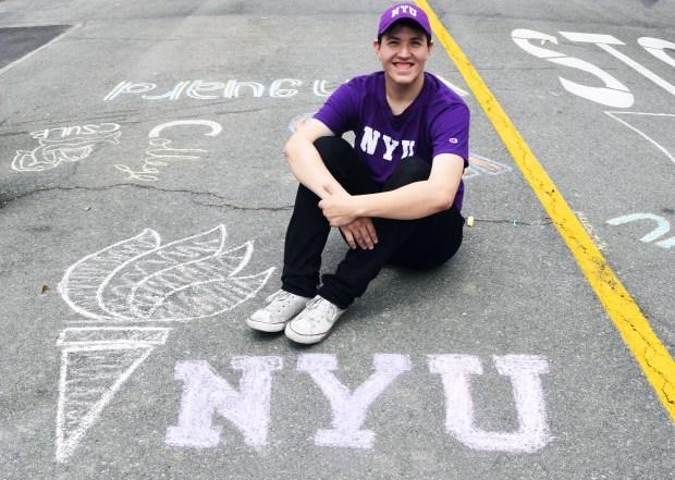 Andre Valdez, OCSANew York University: drama (Photo courtesy of Andre Valdez)