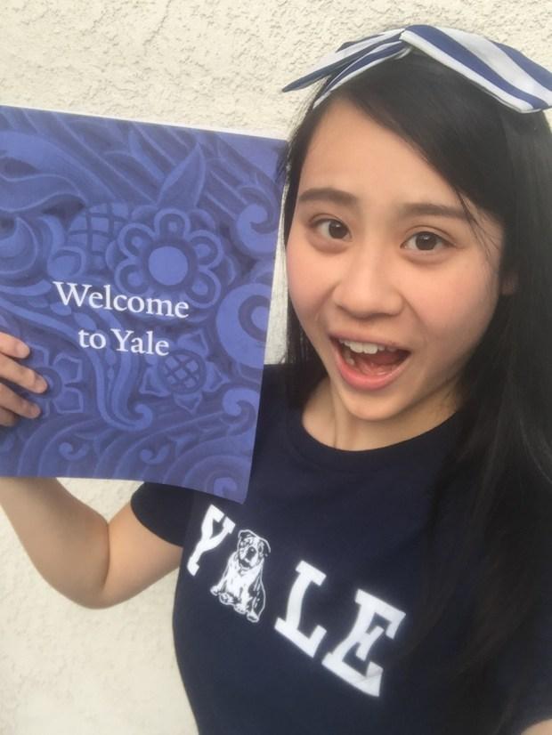 Cassandra Hsiao, OCSAYale University: theatre studies and English, undeclared major (Photo courtesy of Cassandra Hsiao)