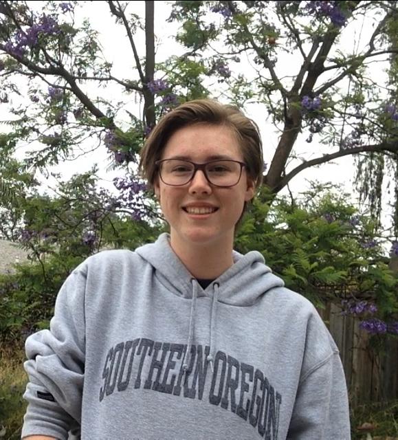 Cayley Busenkell, Laguna HillsSouthern Oregon University: theatre arts, undeclared major; Spanish, undeclared minor (Photo courtesy of Cayley Busenkell)