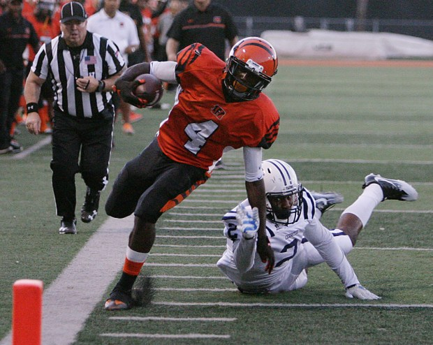 RCC receiver Darius Hunter was an all-state pick.
