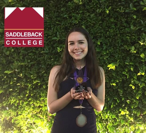 Emilie Meledy, Capistrano ValleySaddleback College: theatre arts (Photo courtesy of Emilie Meledy)