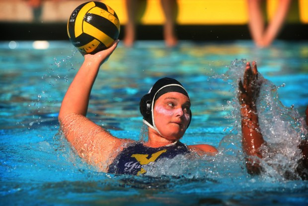 The Riverside City College sophomore helped lead the Tigers to a state water polo title.