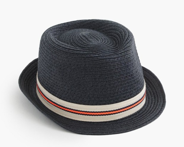 Trilby hat, JCrew, $29.50. (handout photo)