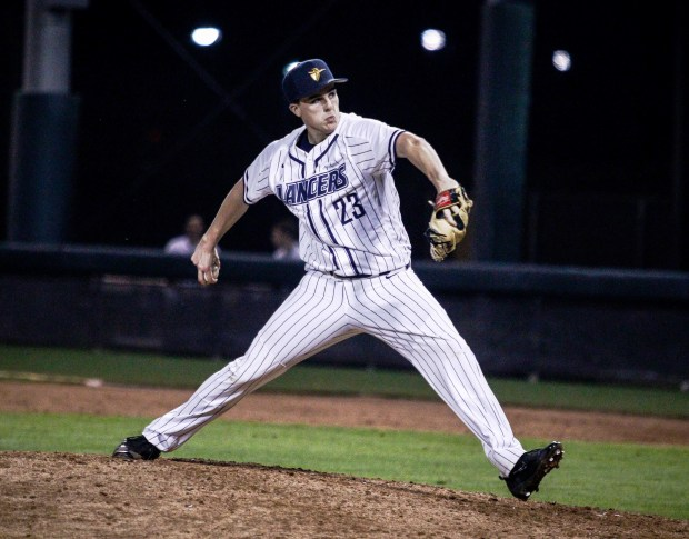 Garett King was the ace of the CBU pitching staff.