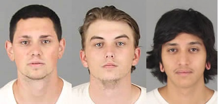 Matthew Rochin, Corey Hopp and Efren Morales, Jr., were arrested Sunday, June 18, 2017, in the robberies of two convenience stores in Lake Elsinore, officials say.