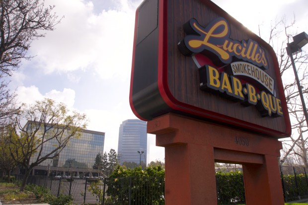 Get a $10 bonus card if you bring dad to eat at Lucille's Bar-B-Que over Father's Day Weekend, June 16-18. (Photo by Rod Veal, contributing photographer)
