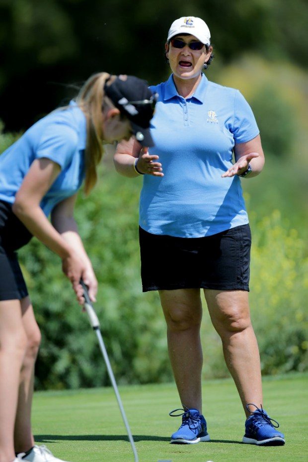UC Riverside women's golf coach Mary Ritchie had the Highlander challenging for another Big West title.