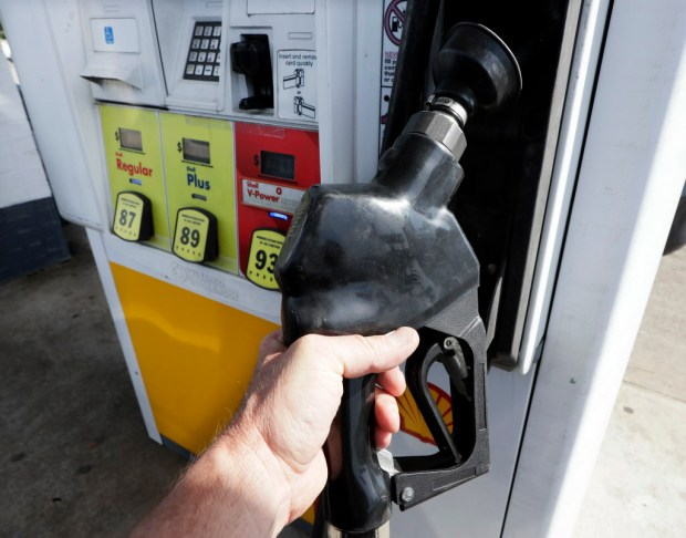 Gas prices in Southern California are up 22 cents from a month ago. (AP Photo/Mark Humphrey) ORG XMIT: NYBZ532