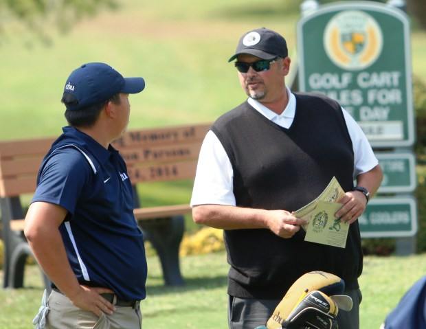 Cal Baptist men's golf coach T.L. Brown led the Lancers to the NCAA tournament.