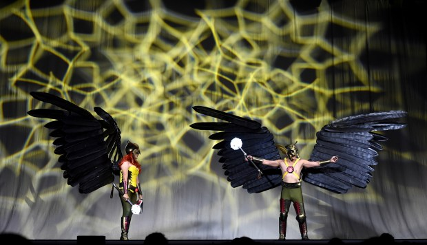 The 2017 Comic-Con International Masquerade on day three of Comic-Con International in San Diego, CA., Saturday, July 22, 2017. (Staff photo by Jennifer Cappuccio Maher/Southern California News Group)