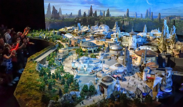 Disneyland's new land, Star Wars: Galaxy's Edge is expected to draw significant crowds when it opens in 2019. (Photo by Jeff Gritchen, Orange County Register/SCNG)