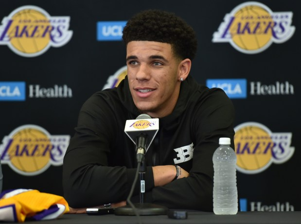 Drafting former UCLA standout Lonzo Ball with the No. 2 pick in June has brought even more attention to the Lakers, who will make 35 national TV appearances next season. (Photo By Robert Casillas, Daily Breeze/SCNG)