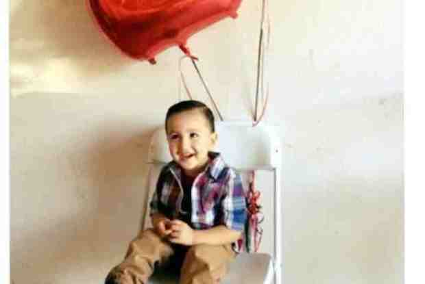 Liam Carrera, 2, was killed in the 16500 block of El Revino Drive in Fontana after he was run over by someone pulling out of the driveway. Courtesy of the Carrera family