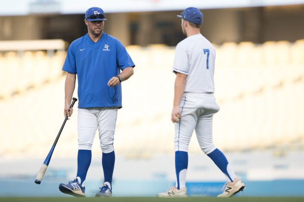 Bret LeVier previously coached at El Toro High School, leading the Chargers to the CIF Division I Championship. Now he hopes to bring similar success as San Juan Hills' head coach (Photo courtesy of Raul Romero Jr).