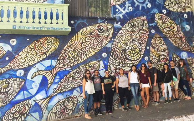 Cal State Fullerton students participating in the Global Titans Leadership Program recently traveled to Baja California Sur. (Photo courtesy of Cal State Fullerton)