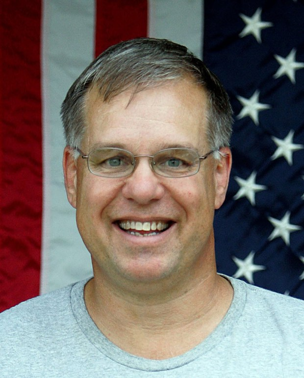 Redlands Tea Party Patriots cabinet member John Berry.