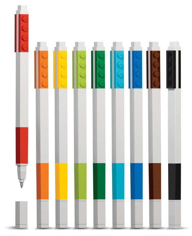 Lego stationery 9-pack gel pen set