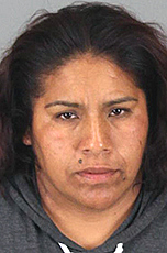 Juanita Mendez-Medrano was arrested outside of the Perris High School graduation June 6 for selling flowers without a permit. A video of her arrest is being widely shared on social media.