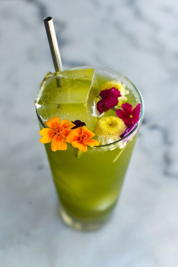 The Gator is one of the new summer cocktails at Santa Ana's Mix Mix. (Photo courtesy of Mix Mix Kitchen Bar.)