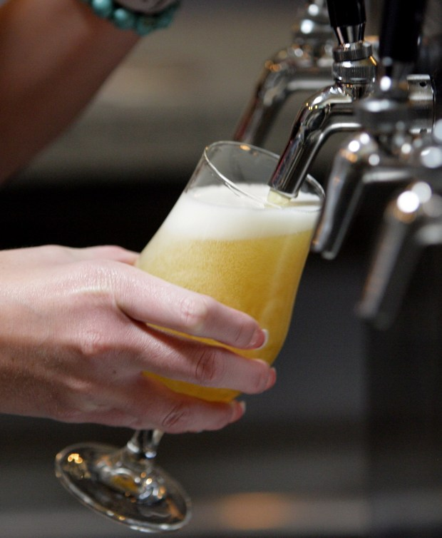 Refuge Brewery in Temecula is known for its Blood Orange Wit. (File photo by Frank Bellino)