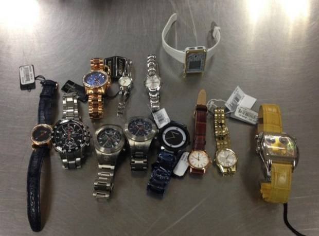 A Hollywood storage unit linked to Douglas Arevalo-Alvarado contained purses, handbags and jewelry connected with two buglaries. (Courtesy photo)