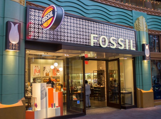 Fossil, a specialty clothing and accessories located in the Downtown Disney area of the Disneyland Resort, will be closing at the end of September 2017 to make room for the virtual reality experience Star Wars: Secrets of the Empire. (File photo by Mark Eades, Orange County Register/SCNG)