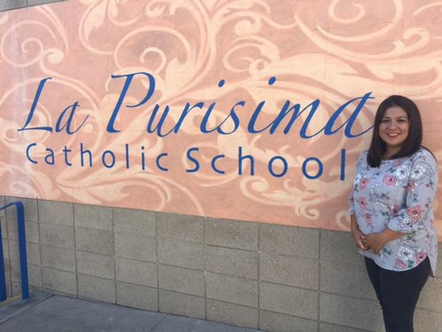 Rosa Ramirez, formerly a student and teacher at La Purisima Catholic School, was named principal for the new 2017-18 school year. (Courtesy of La Purisima Catholic School)