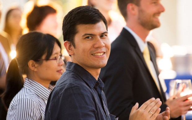 Among the new tenure-track faculty welcomed to campus Aug. 14 is Paul Salvador Inventado, assistant professor of computer science. (Photo courtesy of Cal State Fullerton)