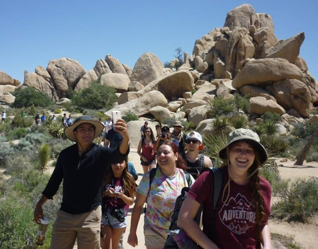 Members of Adventure Club enjoy backpacking, hiking, rock climbing, biking and other activities. (Photo courtesy of Adventure Club)