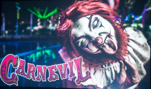 Carnevil is returning for Knott's Scary Farm at Knott's Berry Farm in Buena Park on Thursday, August 31, 2017. (Photo by Matt Masin, Orange County Register, SCNG)