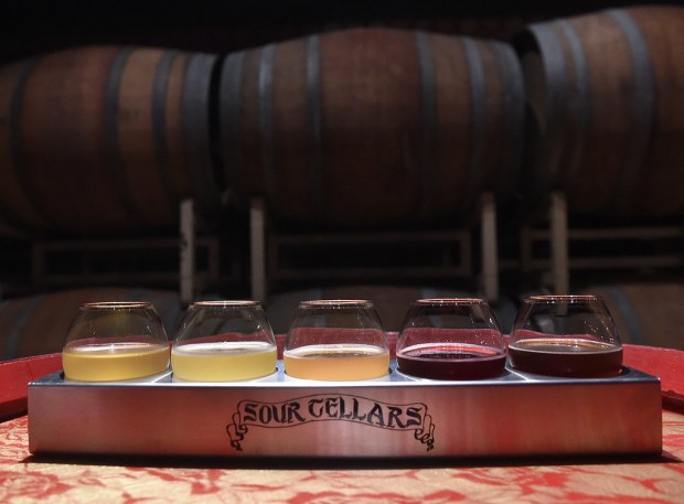 Sour Cellars in Rancho Cucamonga, specializes in sours. (File photo by John Valenzuela/Inland Valley Daily Bulletin/SCNG)