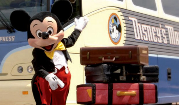 Disney's Magical Express is a way for visitors staying at a hotel on Walt Disney World property to get from Orlando International Airport to their hotel. Visitors also do not have to worry about their luggage, the Magical Express picks up your bags and has them delivered right to your room. (Photo courtesy: The Walt Disney World Resort)