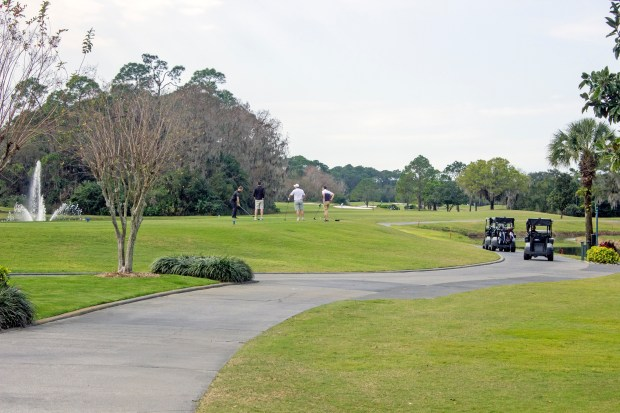 One of several golf courses at Walt Disney World. This is the Magnolia Course, which used to host a PGA tour stop. (Photo by Mark Eades, Orange County Register/SCNG)