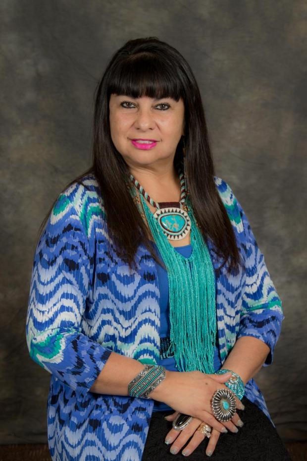 Lynn Valbuena, chairwoman of the San Manuel Band of Mission Indians