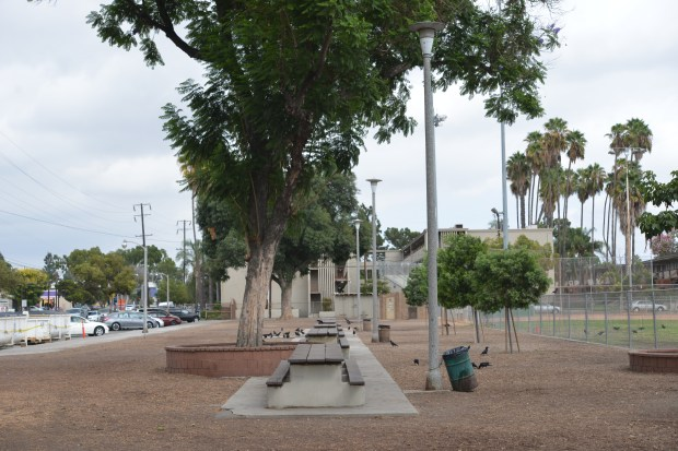 Design plans for three-acre Woodcrest Park in Fullerton show $1.2 million in upgrades, including new picnic tables, restrooms and play equipment. (Photo by Brian Whitehead, Orange County Register/SCNG)