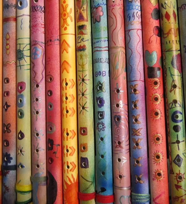 State officials were investigating several flutes made from PVC pipes that were distributed to students in at least three Orange County school districts as part of a music program. Authorities say the instruments may have contained bodily fluids. (Photo Courtesy of the Capistrano Unified School District)