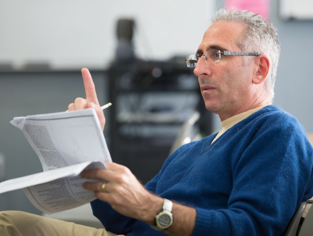 Barry Koff teaches theater arts at Pacific Coast High School. (Photo by Leonard Ortiz, Orange County Register/SCNG)