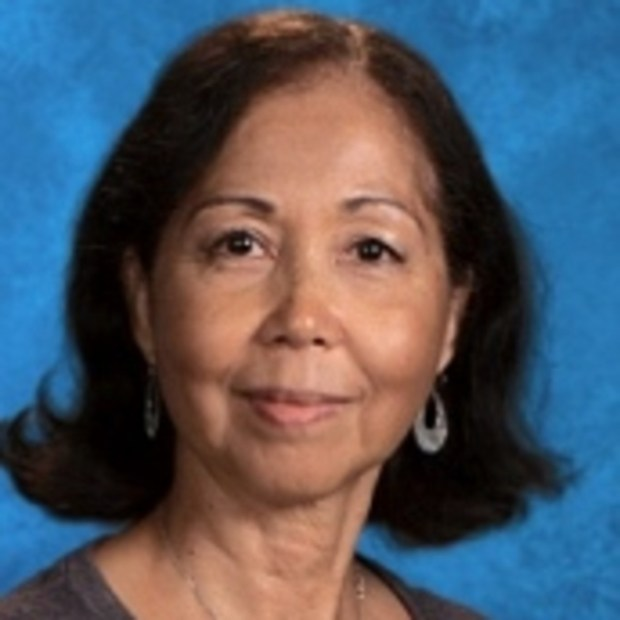 Carol Cole teaches art and computer graphics at Marina High School. (Photo courtesy of Marina High School)