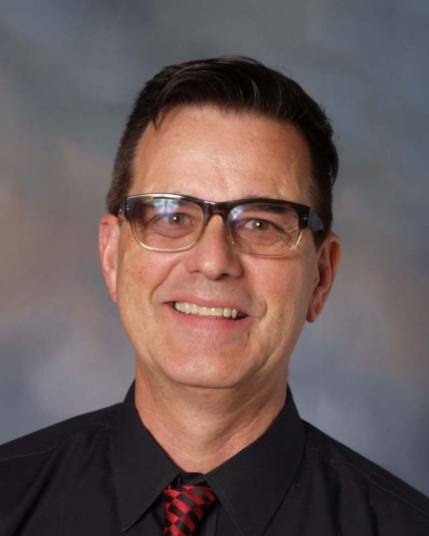 Chris Winn is the accompanist and musical director at Santa Margarita Catholic High School. (Photo courtesy of Santa Margarita Catholic High School)