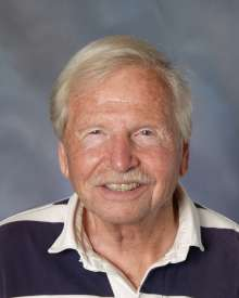 Joe Robinson teaches art history at Newport Harbor High School. (Photo courtesy of Newport Harbor High School)