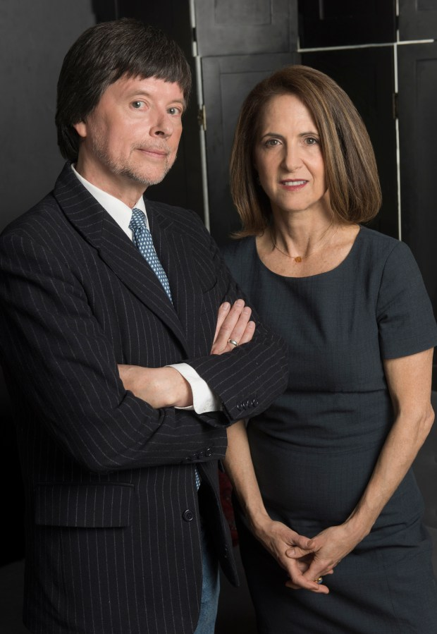 """The Vietnam War"" filmmakers Ken Burns,and Lynn Novick."