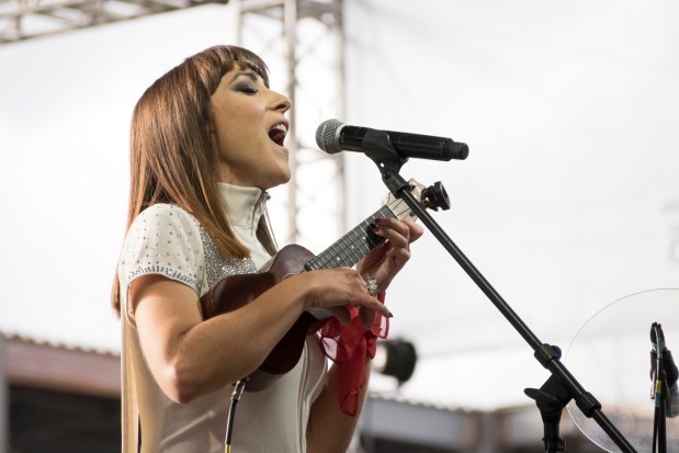 "Former Los Abandoned (""Van Nuys Es Very Nice"") singer Maria Del Pilar is singing at the Van Nuys Arts Festival on Friday,Sept. 29, 2017, at the Van Nuys Civic Center. (Courtesy photo)"