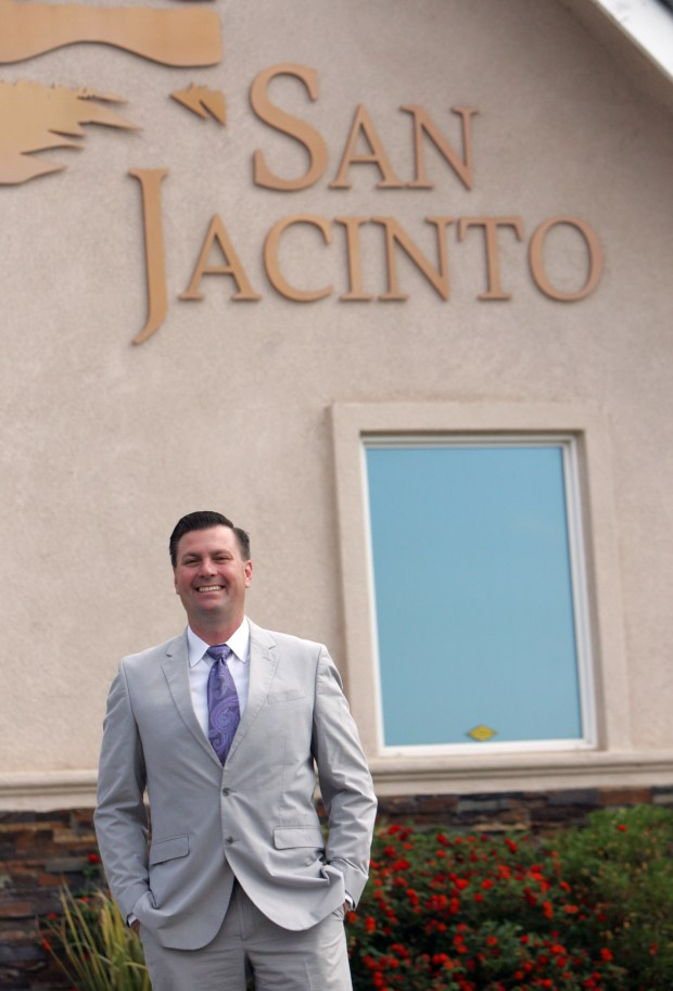 Andrew Kotyuk is the Mayor of San Jacinto, a city that has bounced back from a corruption scandal there several years ago.