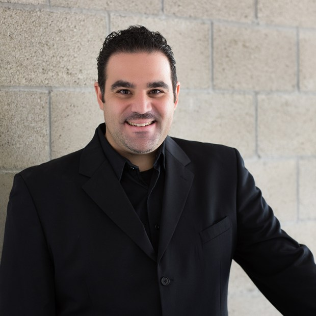 Sarkis Baltaian is the instrumental music associate director at the Orange County School of the Arts. (Photo courtesy of Cheryl Walsh/OCSA)