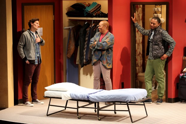 "South Coast Repertory presents the world premiere of ""€œCurve of Departure"" by Rachel Bonds, directed by Mike Donahue. (Photo Courtesy of South Coast Repertory)"