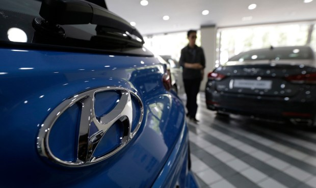 """The Korean automaker on Tuesday announced dealers will post """"fair market pricing"""" on their websites that includes company discounts offered to consumers. Dealers, which are independent businesses, will be encouraged to add incentives they're offering to buyers. (AP Photo/Ahn Young-joon)"""