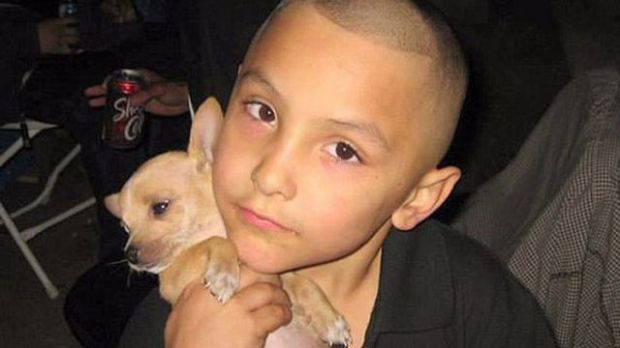 A jury is deciding whether Isauro Aguirre, 37, will face the death penalty in the 2013 Palmdale torture-beating death of Gabriel Fernandez, 8, seen above. The boy's mother, Pearl Sinthia Fernandez, 34, will be tried separately.